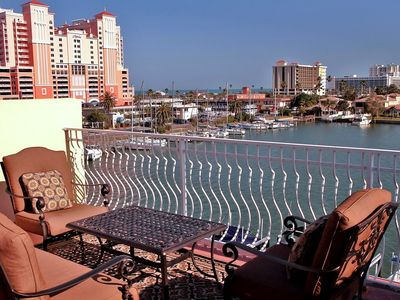Enjoy million dollar views of the Gulf of Mexico on the private sun deck