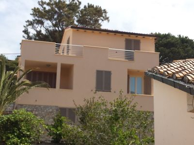 Photo for Apartment at the ground floor for 8 guests 350 mt far from the beach