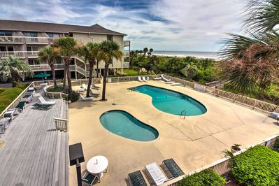 Make the most of your next beach getaway at this vacation rental condo!