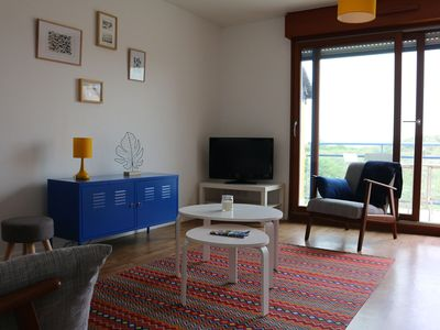 Photo for Apartment Blériot-Plage sea view