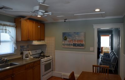 Photo for 304 Webster Ave 2nd floor apartment- sleeps 10 w/beach badges - walk to beach