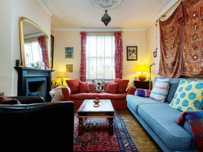 Photo for Calming 3 bed home located next to the beautiful London Fields (Veeve)