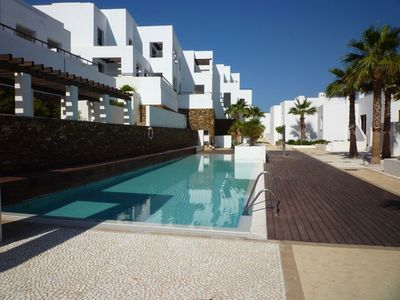Photo for Luxury 5* Front Line Apartment on Playa Macenas Golf & Beach Resort