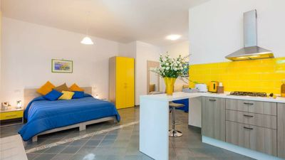 Photo for 10 min from Sorrento, large studio surrounded by greenery with private parking