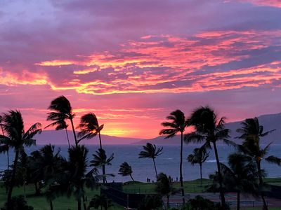 Sunset from South Kihei park
