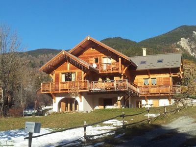 Photo for Charming Chalet Comfortable And Homely, Great Views, Skiing Close By