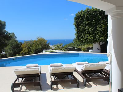 Photo for Stunning Luxurious Villa 5 minutes' walk from El Portet beach with Sea Views