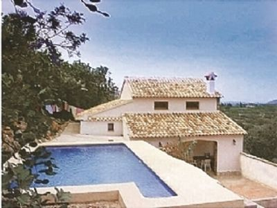 Photo for Casa Los Tres Molinos 500 Finca with sea views in glorious valley of wild beauty