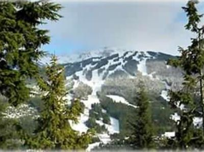 View of Blackcomb from living room