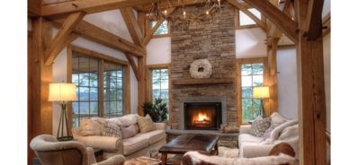 Photo for New Custom Built Catskill Mountain Chalet with Elevator