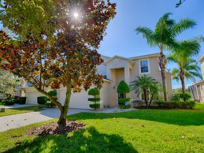 Photo for IDEAL FOR LARGE FAMILY/GROUP 7 BR 6 1/5 Bath Sleeps 14 only 4 miles to Disney