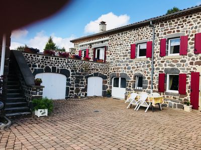 Photo for COTTAGE HOLIDAYS 3 STARS IN A Southern Auvergne 1100m ALTITUDE