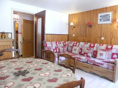 Photo for Gentianes 6 - Flat for 7 people, village center, near pists