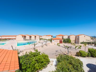Photo for Villa 3 *** 50 m from the sea, 3 bedrooms, 4 bikes, communal pool