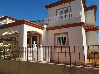 Photo for Nice holiday home near the beach with communal pool