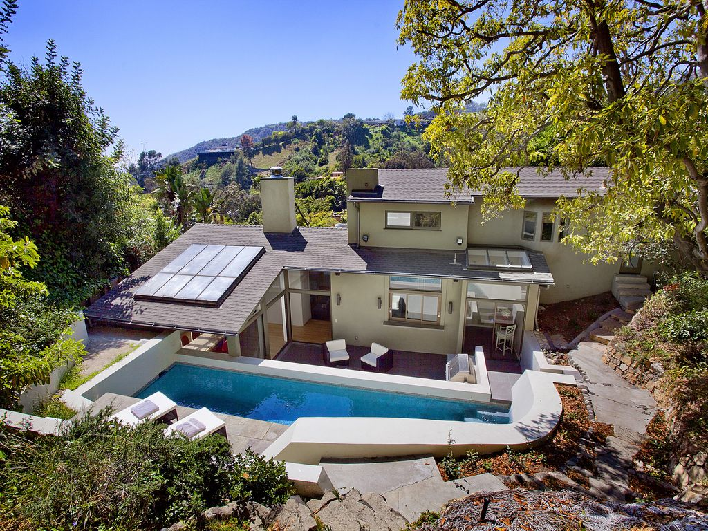 luxury home designed by famous architect with pool and lovely