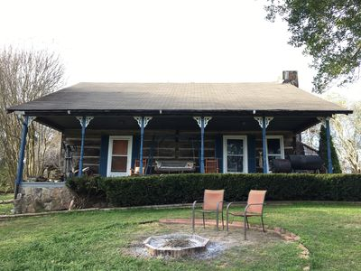 Photo for Quaint Log Cabin at the Middle Tennessee foothills