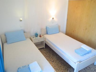 Photo for Studio apartment in the center of Ialysos with Internet, Washing machine, Air conditioning, Terrace (378307)
