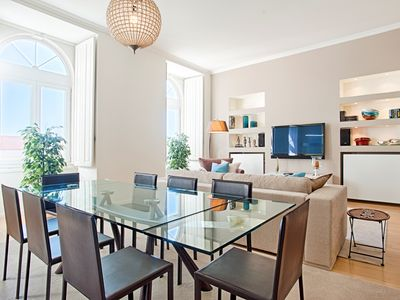 Photo for Chiado 3 - Picadeiro Square - Fantastic apartment, recently renovated and decorated with extremely g