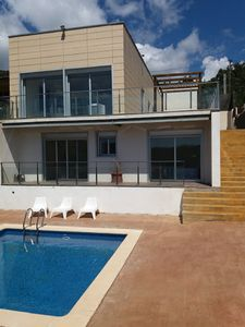 Photo for Architect's villa sea view with pool