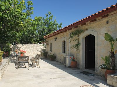 Photo for 200 Year Old Converted Barn in mountain village location near to Panormo, Crete