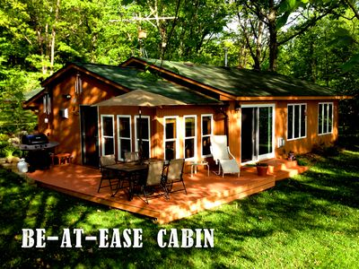 Be-at-Ease Cabin on a perfect summer day!