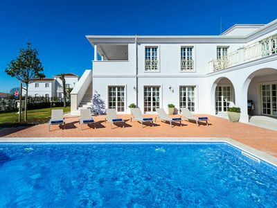 Photo for This villa invites you to a luxurious holiday close to the beach and Porec