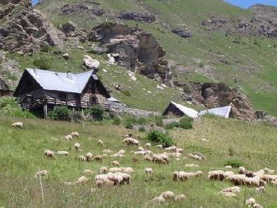 Photo for Superb alpine chalet in Orcières Merlette. Exceptional view