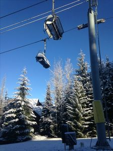 Best Ski in/Ski out Townhouse Location in Whistler Canada