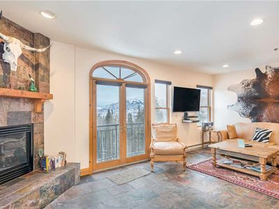 Photo for See the Mountains From Your Balcony in This Unique 1-Bedroom Condo
