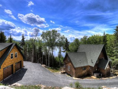 Photo for Beach Front Retreat - Private home on Mooselookmeguntic Lake