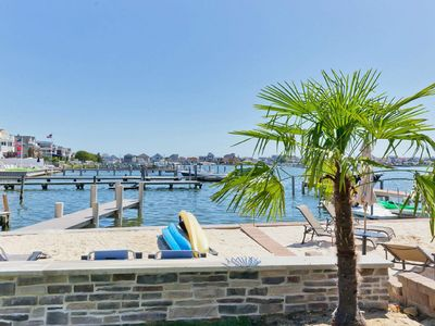 Photo for Family gatherings at the Jersey Shore. Luxury Lake-house at the Beach.