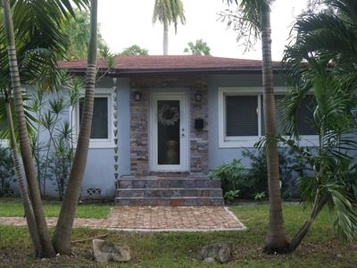 Photo for Quaint bungalow, nestled in the heart of Coconut Grove.