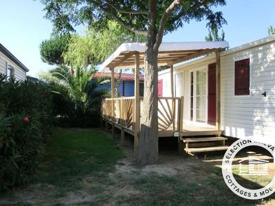 Photo for Camping Le Soleil of the Mediterranean **** - Maeva Camping - Mobile Home 4 Rooms 6 People Air-conditioned