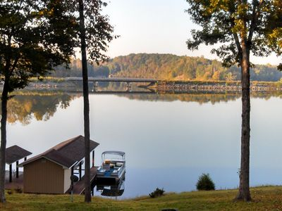 Photo for Relaxing Hyco Lake Cottage