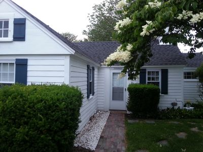 Photo for Adorable 2 BR Pine Point Cottage - Walk to Beach