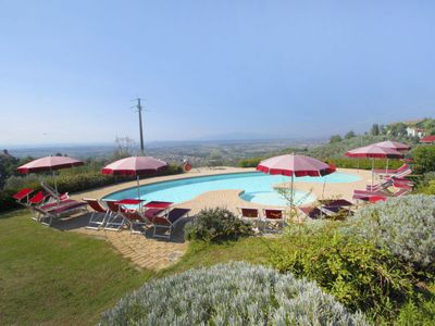 Photo for Apartment Villa Papiano in Vinci - 4 persons, 1 bedrooms