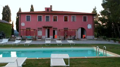 Photo for Podere Marilla villa in the wood with pool