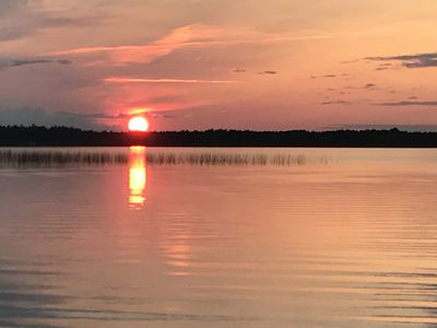 Photo for Spectacular Sunsets on Moose Lake