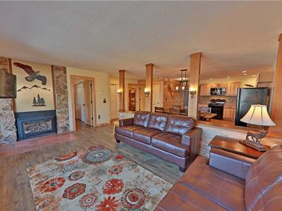 Photo for Gorgeously renovated ski-in/ski-out condo with private indoor hot tub