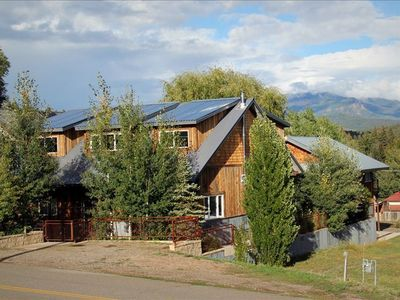 Photo for Incredible Pagosa:  Custom Home W/ Hot Private Tub, Walk to Everything
