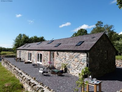 Photo for Open plan with original beams - close to the mountains and the sea