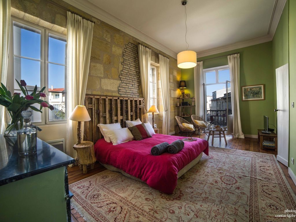 Bordeaux tr s bel appartement triangle d or bordelais for Appartement bordeaux triangle d or