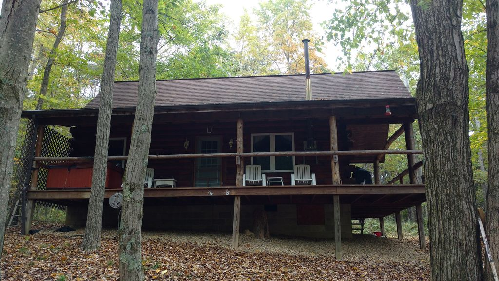 private vacation cabin pet friendly and in the heart of hocking rh homeaway co uk