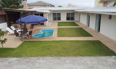Photo for SWIMMING POOL-AIR CONDITIONED -INTERNET -12 PEOPLE -CONDOMINIO - 4 SUITES - R $ 850 / DAY