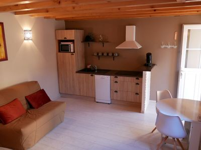 Photo for Cottage in Lanas for 2 to 3 people 100m from the river Ardèche