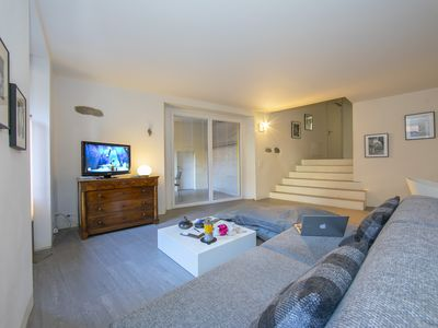 Photo for 1BR Apartment Vacation Rental in Ponte Tresa