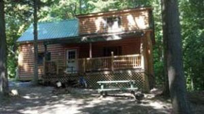 Photo for Gorgeous cabin for on lakefront property!