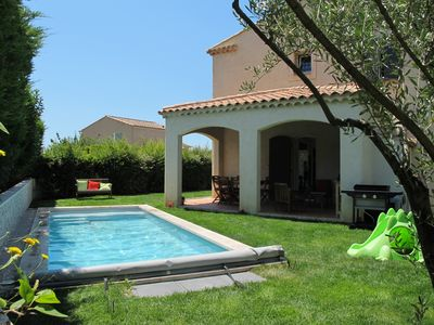 Photo for 130m2 villa with heated pool in Aix-en-Provence