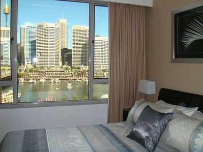 Bedroom 1 with amazing views.